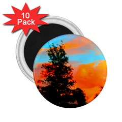 Neon Landscape 2 25  Magnets (10 Pack)
