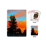 Neon Landscape Playing Cards (Mini) Back