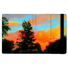 Neon Landscape Apple Ipad Pro 9 7   Flip Case