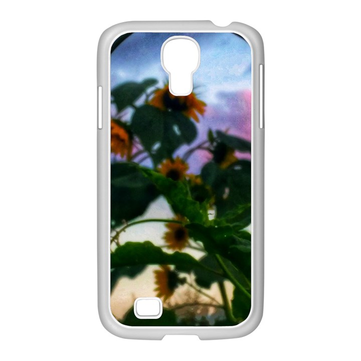 Sunflowers and Wild Weeds Samsung GALAXY S4 I9500/ I9505 Case (White)