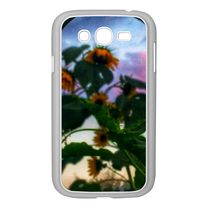 Sunflowers and Wild Weeds Samsung Galaxy Grand DUOS I9082 Case (White)