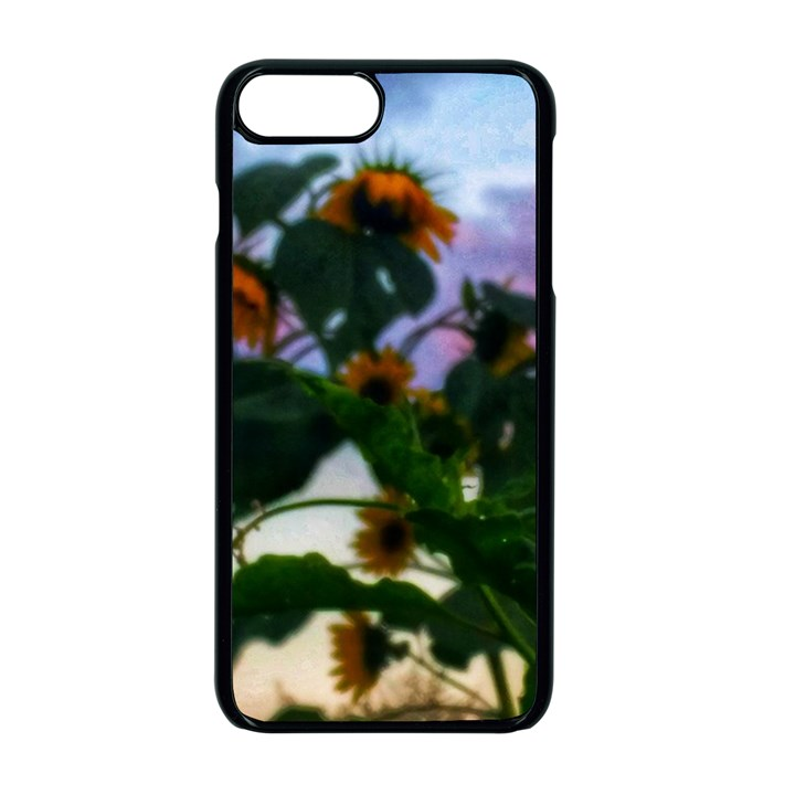 Sunflowers and Wild Weeds iPhone 7 Plus Seamless Case (Black)