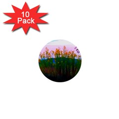 Field Of Goldenrod 1  Mini Buttons (10 Pack)  by okhismakingart