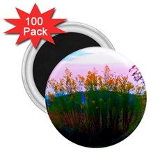 Field Of Goldenrod 2 25  Magnets (100 Pack)  by okhismakingart