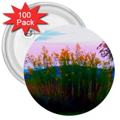 Field Of Goldenrod 3  Buttons (100 Pack)  by okhismakingart