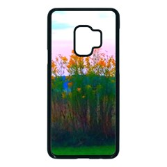 Field Of Goldenrod Samsung Galaxy S9 Seamless Case(black) by okhismakingart