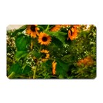 Sunflowers Magnet (Rectangular) Front