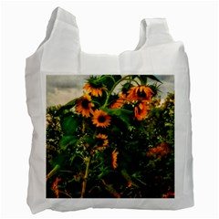 Sunflowers Recycle Bag (two Side)