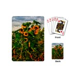 Sunflowers Playing Cards (Mini) Back