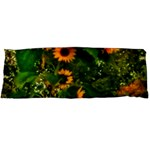Sunflowers Body Pillow Case Dakimakura (Two Sides) Back