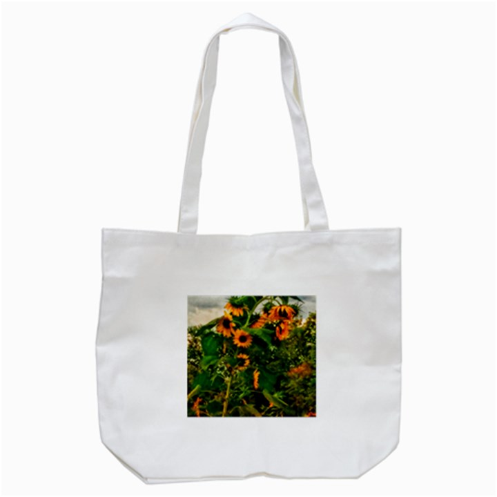 Sunflowers Tote Bag (White)