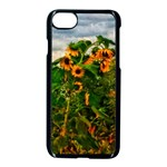 Sunflowers iPhone 7 Seamless Case (Black) Front