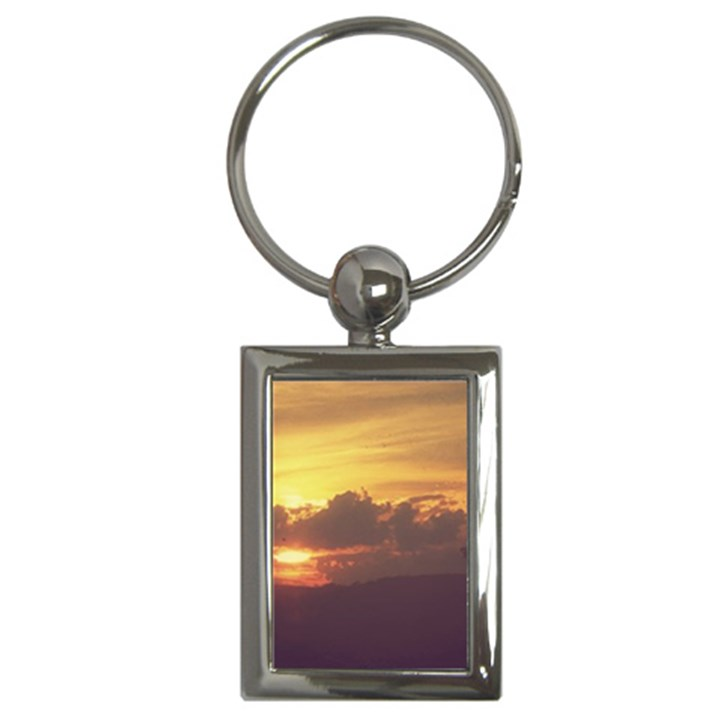Early Sunset Key Chains (Rectangle)