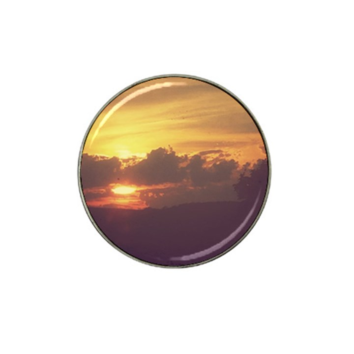 Early Sunset Hat Clip Ball Marker (4 pack)
