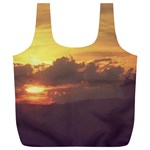 Early Sunset Full Print Recycle Bag (XL) Back