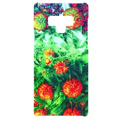 Intense Flowers Samsung Note 9 Black Uv Print Case  by okhismakingart