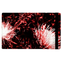 Red Thistle Apple Ipad Pro 9 7   Flip Case by okhismakingart