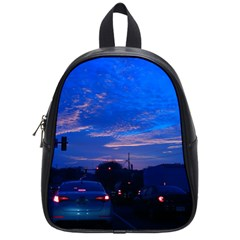 Blue Highway School Bag (small) by okhismakingart