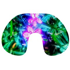 Glowing Flowers Travel Neck Pillows