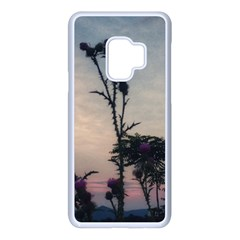 Hazy Thistles Samsung Galaxy S9 Seamless Case(white)