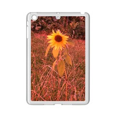 Red Tinted Sunflower Ipad Mini 2 Enamel Coated Cases by okhismakingart