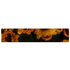 Yellow Flowers Small Flano Scarf