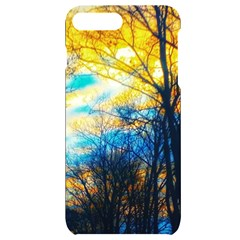 Yellow And Blue Forest Iphone 7/8 Plus Black Uv Print Case