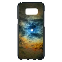 Rainbow Sun Samsung Galaxy S8 Plus Black Seamless Case