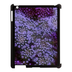 Blue Queen Anne s Lace Landscape Apple Ipad 3/4 Case (black) by okhismakingart