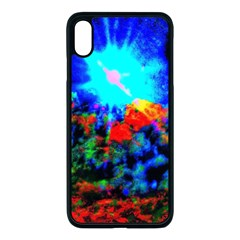 Psychedelic Spaceship Iphone Xs Max Seamless Case (black)