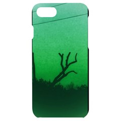 Creepy Green Scene Iphone 7/8 Black Uv Print Case by okhismakingart