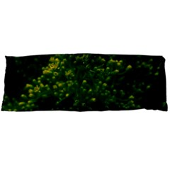 Green Goldenrod Body Pillow Case (dakimakura) by okhismakingart