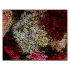 Hydrangea Arrangement Ii Rectangular Jigsaw Puzzl