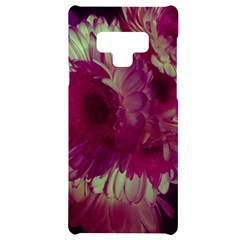 Pink Highlighted Flowers Samsung Note 9 Black Uv Print Case
