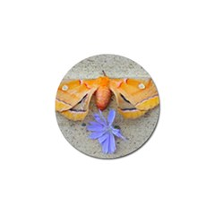 Moth And Chicory Golf Ball Marker (10 Pack) by okhismakingart
