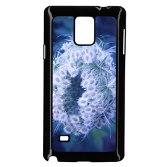 Light Blue Closing Queen Annes Lace Samsung Galaxy Note 4 Case (black)