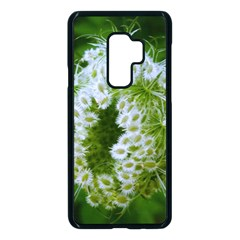 Green Closing Queen Annes Lace Samsung Galaxy S9 Plus Seamless Case(black)