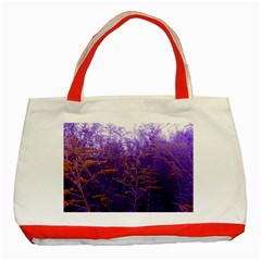Yellow And Blue Goldenrod Classic Tote Bag (red)