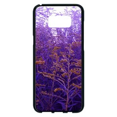 Yellow And Blue Goldenrod Samsung Galaxy S8 Plus Black Seamless Case