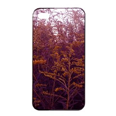 Red And Yellow Goldenrod Iphone 4/4s Seamless Case (black)