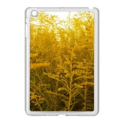 Gold Goldenrod Apple Ipad Mini Case (white)