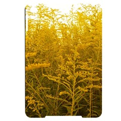 Gold Goldenrod Apple Ipad Mini 4 Black Uv Print Case by okhismakingart
