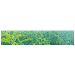 Turquoise Goldenrod Small Flano Scarf