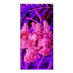 Pink And Blue Sideways Sumac Shower Curtain 36  X 72  (stall)