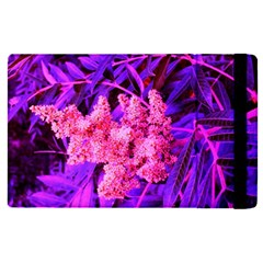 Pink And Blue Sideways Sumac Apple Ipad Mini 4 Flip Case