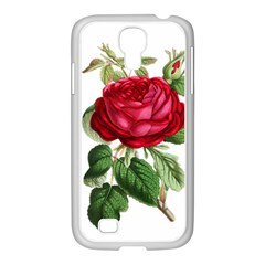 Rose   Vintage Samsung Galaxy S4 I9500/ I9505 Case (white) by WensdaiAddamns