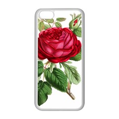 Rose   Vintage Iphone 5c Seamless Case (white) by WensdaiAddamns