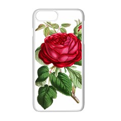 Rose   Vintage Iphone 7 Plus Seamless Case (white) by WensdaiAddamns