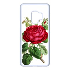 Rose   Vintage Samsung Galaxy S9 Seamless Case(white) by WensdaiAddamns