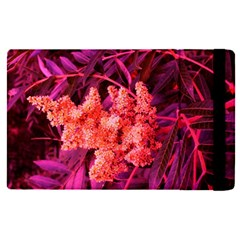 Pink Sideways Sumac Apple Ipad Mini 4 Flip Case